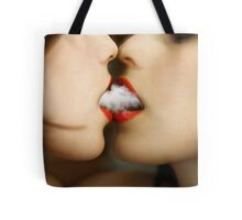 sharing clouds Tote Bag