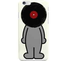 Vinylized!!! Vinyl Records DJ Retro Music Man T-Shirt Stickers Prints iPhone Case/Skin