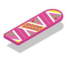 Mattel Hoverboard (floating) Photographic Print