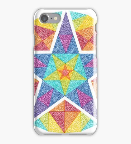 Colour Star iPhone Case/Skin