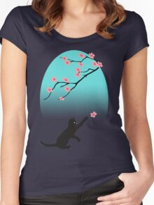 Spring Cat Women's Fitted Scoop T-Shirt