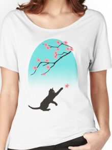 Spring Cat Women's Relaxed Fit T-Shirt