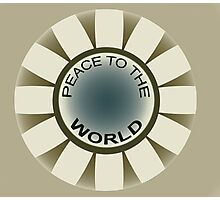 Peace to the World Photographic Print