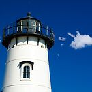 Edgartown Light by Michael  Petrizzo