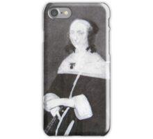 WOMAN SITTING iPhone Case/Skin