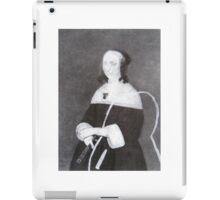 WOMAN SITTING iPad Case/Skin