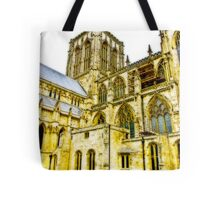 Central Tower - York Minster Tote Bag
