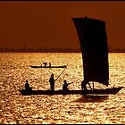 African Fishing Boat by Robert Azmitia