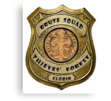 Brute Squad Thieves' Forest Badge Canvas Print