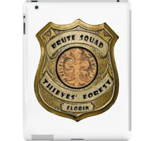 Brute Squad Thieves' Forest Badge iPad Case/Skin