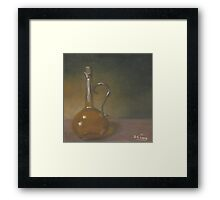 Bottle of Olive Oil #1 Framed Print