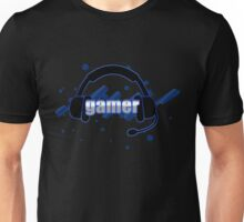 Gamer - Headphones Unisex T-Shirt