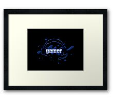 Gamer - Headphones Framed Print