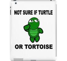 Confused Turtle iPad Case/Skin