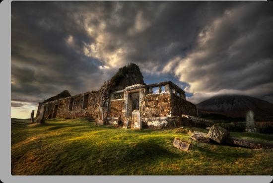 Kirk at Cill Chriosd, ( Kilchrist ) . Isle of Skye, Scotland. by photosecosse /barbara jones