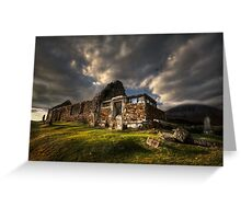 Kirk at Cill Chriosd, ( Kilchrist ) . Isle of Skye, Scotland. Greeting Card