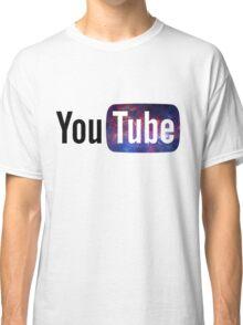 Cosmic YouTube Logo Classic T-Shirt