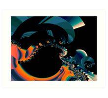 Experiment in Fractals Art Print