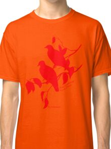 Red Rose-crowned fruit dove Classic T-Shirt