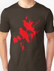 Red Rose-crowned fruit dove T-Shirt