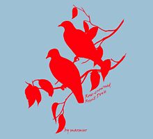 Red Rose-crowned fruit dove Unisex T-Shirt