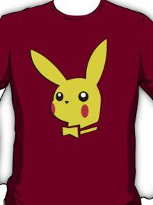 Pikachu pokemon playboy bunny parody T-Shirt