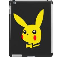 Pikachu pokemon playboy bunny parody iPad Case/Skin