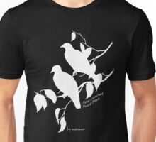 White Rose-crowned fruit dove Unisex T-Shirt