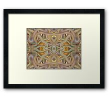 ABSTRACT 738 Framed Print