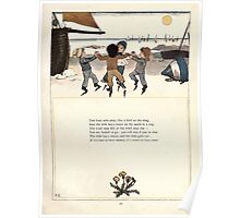 Under the Window Pictures and Rhymes for Children Edmund Evans and Kate Greenaway 1878 0043 Boat Sails Away Poster