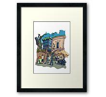 Estatua Valle-Inclan Framed Print