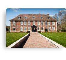 Hall Place 1537AD: Bexley, Kent. UK. Canvas Print