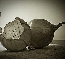 onion and skin by Igor Philipenko