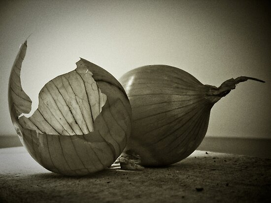 onion and skin by Igor Philipenko