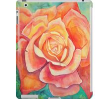 rose bud watercolour iPad Case/Skin