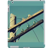 The Lines Are Down iPad Case/Skin