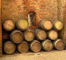 Barrels by Patrick Lemmens