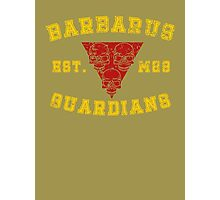 Sports Team: The Barbarus Guardians Photographic Print