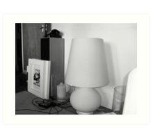 Very Expensive Lamp Art Print