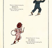 Under the Window Pictures and Rhymes for Children Edmund Evans and Kate Greenaway 1878 0058 Tommy and Jimmy by wetdryvac