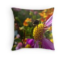 Mz. Bee-Haven Throw Pillow