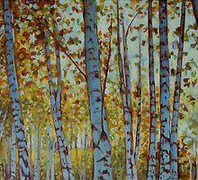 Birches by Catherine Kuzma