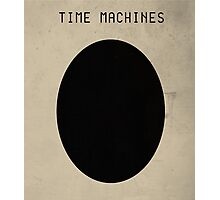 "Coil - ""Time Machines"" Poster Photographic Print"