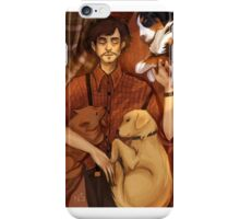 Will Graham and his puppies iPhone Case/Skin