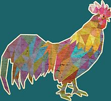 Rooster Lowpoly by tsign703