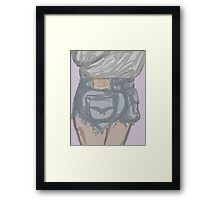 Thicke booty shorts inspiration Framed Print