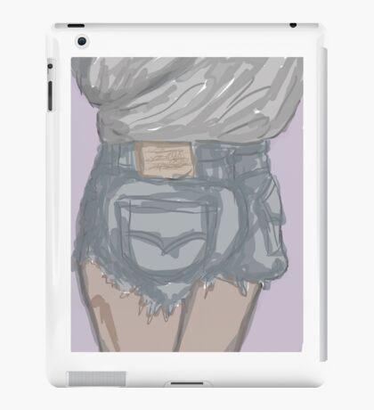 Thicke booty shorts inspiration iPad Case/Skin