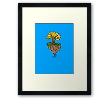 The Earth is Beautiful - Tree Floating Framed Print