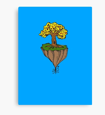 The Earth is Beautiful - Tree Floating Canvas Print