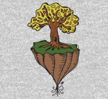 The Earth is Beautiful - Tree Floating One Piece - Short Sleeve
